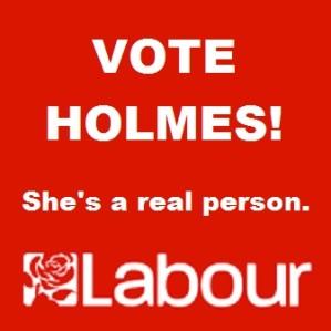 VOTE HOLMES