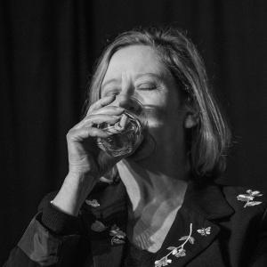 Maggie drinking